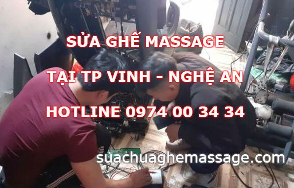 Sửa ghế massage tại TP Vinh Nghệ An