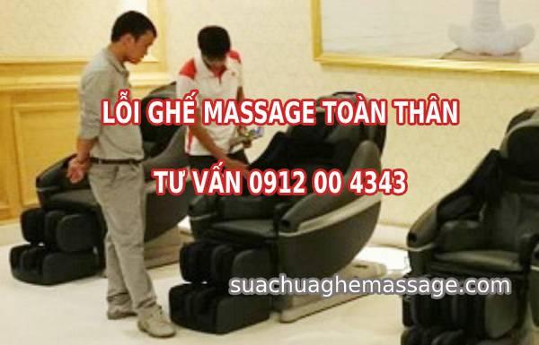 Lỗi ghế massage