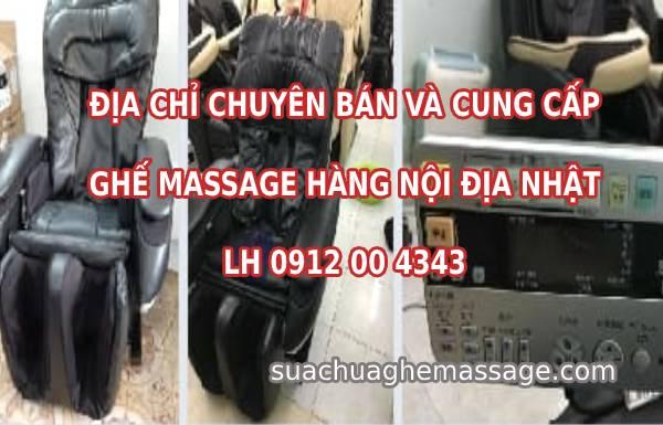 Địa chỉ bán ghế massage nội địa cũ tại Hà Nội