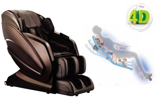Ghế massage không có 3D mà vẫn gọi là công nghệ 4D 5D