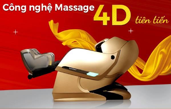 Cần biết khi mua ghế massage công nghệ 4D và 5D