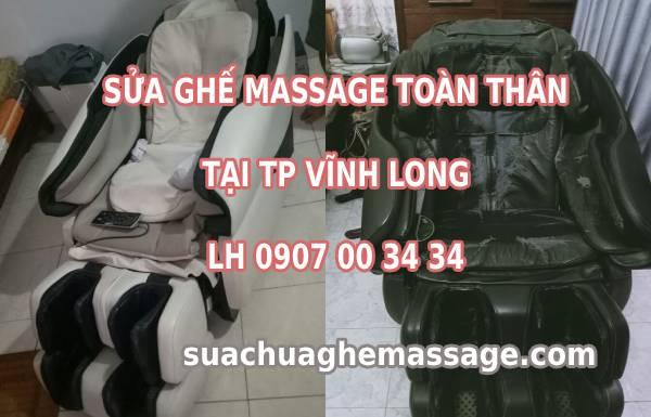 Sửa ghế massage tại Vĩnh Long