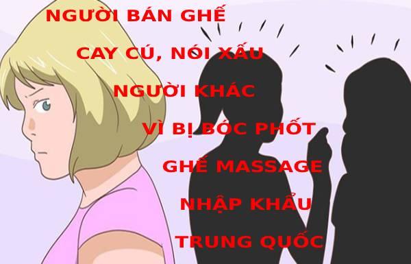 Nói xấu gắn gắp thông tin vì bị bóc phốt ghế nhập Trung Quốc