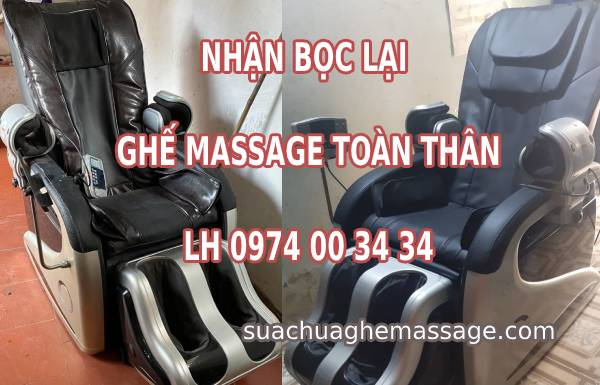 Nhận bọc lại ghế massage