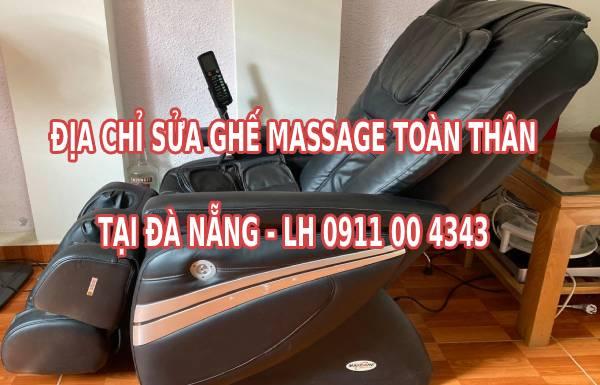 Địa chỉ sửa ghế massage toàn thân tại Đà Nẵng ở đâu