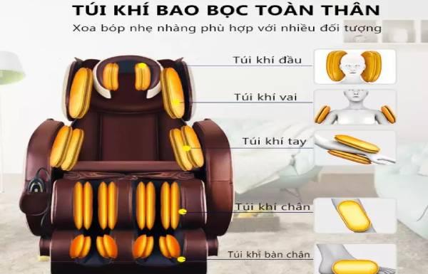 Những điều cần biết khi gọi thợ thay túi khí ghế massage