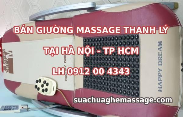 Bán giường massage thanh lý tại Hà Nội