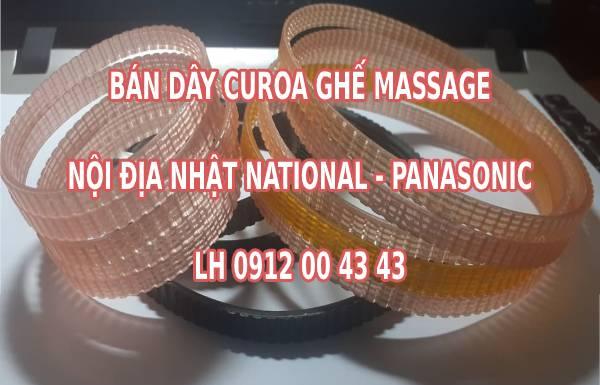 Bán dây curoa ghế massage nội địa Nhật National