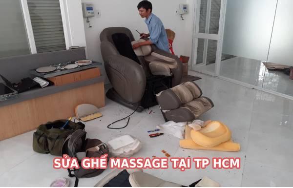 Sửa ghế massage tại TP Hồ Chí Minh