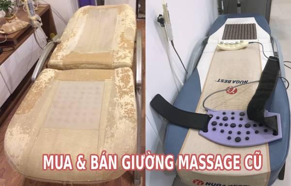 Mua bán giường massage cũ