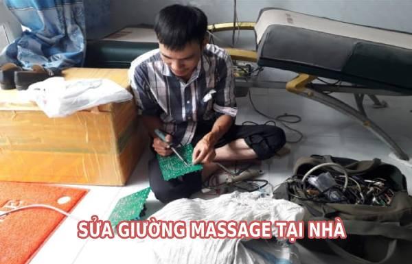 Sửa giường massage tại nhà