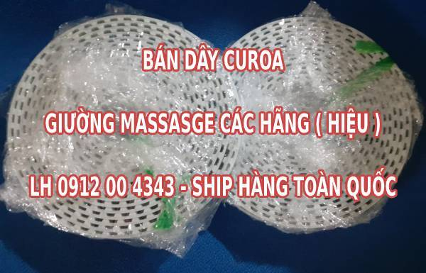 Thay dây coroa giường massage