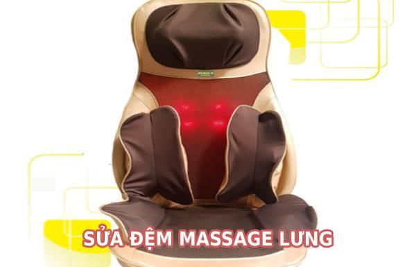 Sửa máy massage lưng