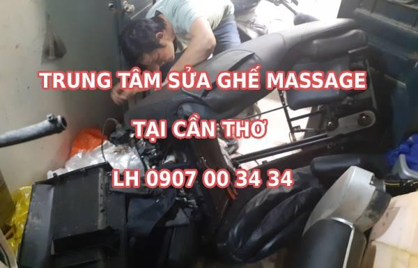 Địa chỉ trung tâm sửa ghế massage tại Cần Thơ