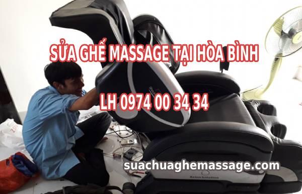 Sửa ghế massage tại Hòa Bình