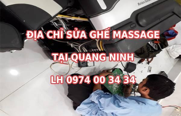 Địa chỉ sửa chữa ghế massage tại Quảng Ninh ở đâu uy tín