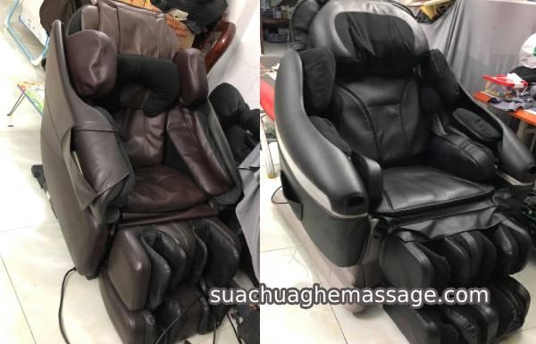 Ghế massage nội địa nhật tại sao hay hư hỏng khó thay sửa