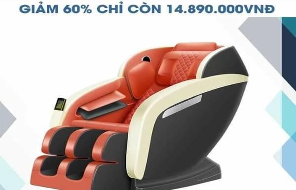 Ghế massage giá rẻ dưới 20 triệu có xứng đáng đồng tiền