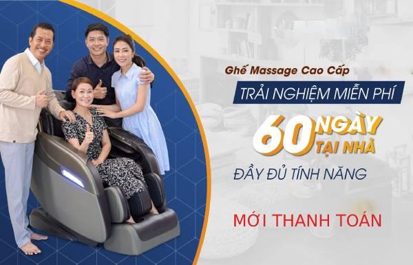 Dụ dỗ mua ghế massage cho ngồi thử 1 tuần ưng mới trả tiền