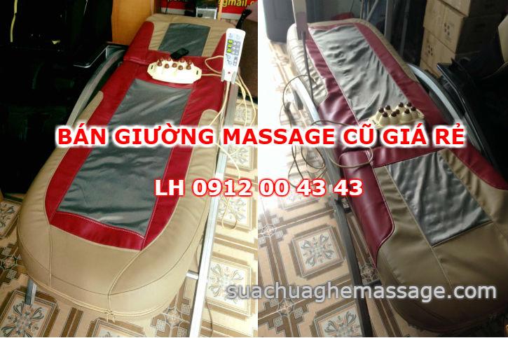 Bán giường massage cũ giá rẻ