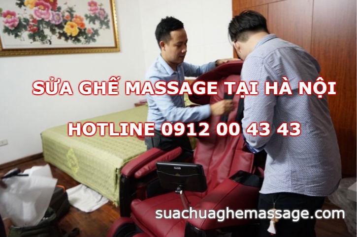Sửa ghế massage tại Hà Nội
